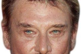 Masque Johnny Hallyday